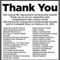 Thank You! Campbell River Mirror, Mar. 1, 2013