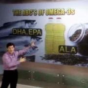 Dr. Oz promoting Omega 3s